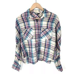 Urban Outfitters BDG Womens Top Shirt Small Plaid